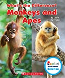 Monkeys and Apes (Rookie Read-About Science: What s the Difference?)