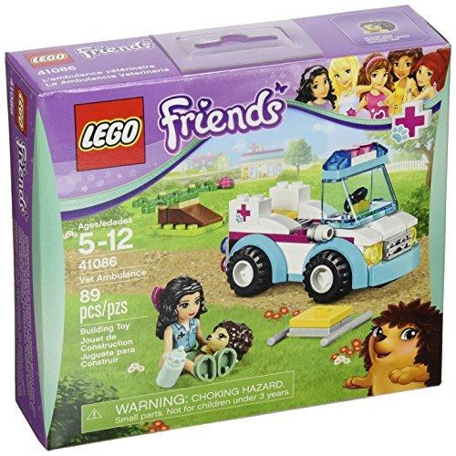 5 And 41086 Lego Petals Stem Ambulance Vet Friends At Buy X dsrChQt