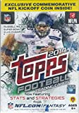 2014 Topps NFL Football Series Unopened Blaster Box That Contains 10 Packs with 8 Cards Per for a Total of 80 Cards Plus One Commemorative Kickoff Coin Per Box