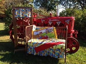 ih tractor mac nursery crib bedding set baby bedding gift sets baby