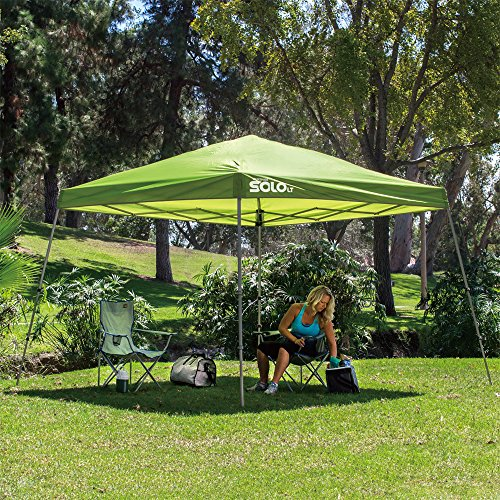 Quik shade solo lt 72 10 39 x10 39 instant canopy home garden for Gazebo 4x3 amazon
