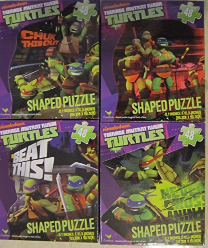 Teenage Mutant Ninja Turtles 48pc (Bundle of 4)
