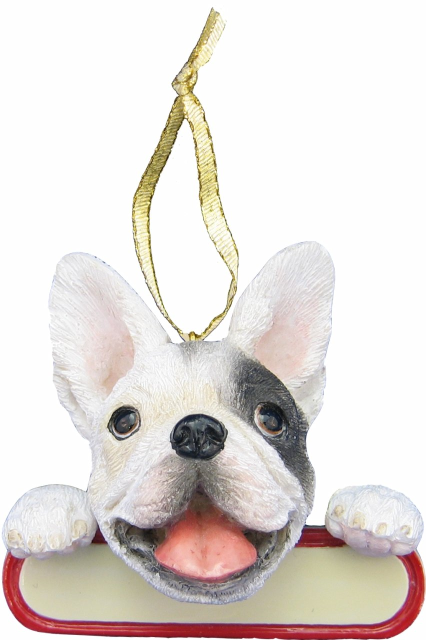 Santa's Pal Christmas Dog Ornament