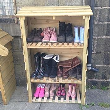Coffre chaussures exterieur for Rangement chaussures exterieur