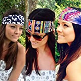 4Head Headbands By Hippie Runner. FUN PATTERNS. The #1 Choice For Athletes! No Slip No Drip Headbands For Running Exercise Fashion Accessories. Buy Four Get One Free! (#162 Trippy)