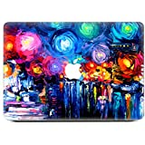 iCasso Beautiful Nebula Protective Full-cover Vinyl Art Skin Decal Sticker Cover for Apple MacBook Pro 13.3 inch(A1278)