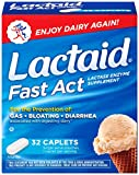Lactaid Fast Act Lactase Enzyme Supplement, Caplets