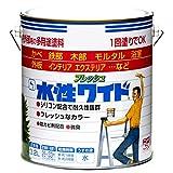 ニッペ 多用途塗料 水性フレッシュワイド オフホワイト 3.2L