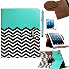 Pandamimi ULAK(TM) 360 Rotating Magnetic PU Leather stand Case Smart Cover For Apple New iPad 4th Generation (Wake/sleep Function) Apple iPad 2, iPad 3(the new iPad)W/Touch Stylus+ Screen protector (Pattern-FOLLOW THE SKY)
