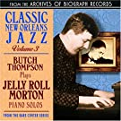 Plays Jelly Roll Morton Piano