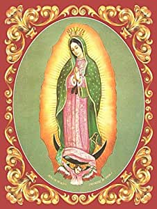 Virgen de Guadalupe Metal Sign: Hispanic and Religious Décor Wall Accent