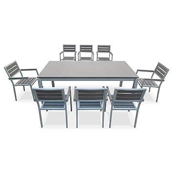 alice 39 s garden salon de de jardin table 200cm 8. Black Bedroom Furniture Sets. Home Design Ideas