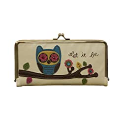 Cute Christmas present ideas for girlfriend: The owl Wallet