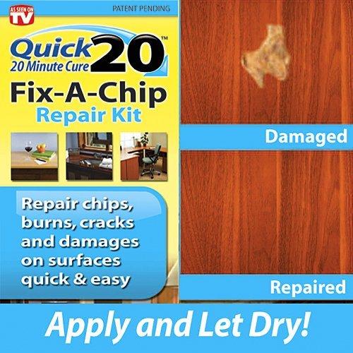 Quick 20 Vinyl Floor and Tile Repair Kit: Repairs chips, cracks, burns ...