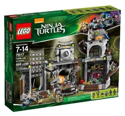 LEGO Ninja Turtles 79117 Turtle Lair Invasion Building Set