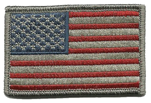 Find Cheap Tactical USA Flag Patch - Subdued Silver USA by Gadsden and Culpeper