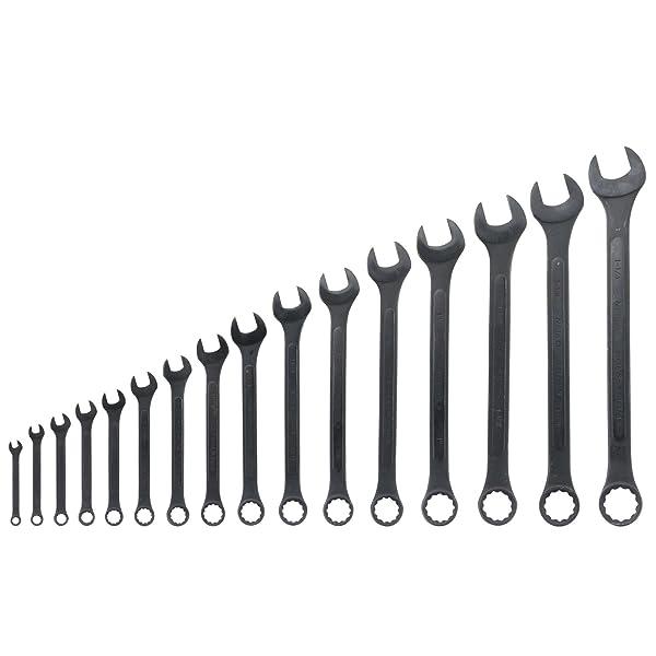 Neiko 03574A Jumbo Combination Wrench Set, 16 Piece   Raised Panel Construction   1/4 to 1-1/4-Inch SAE Sizes (Tamaño: SAE)