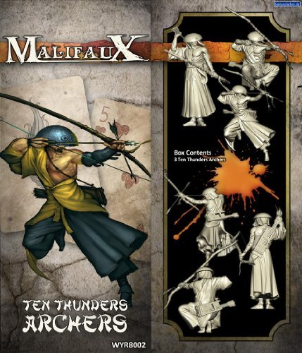 Malifauc 2E Ten Thunders Archers (3 figures, wyr20702) by Malifaux