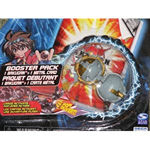 Bakugan Battle Brawlers Grey Booster Stinglash