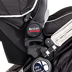 Baby Jogger Car Seat Adapter for Britax, Black