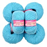 Vardhman Acrylic Knitting Wool, Pack Of 6 (Pack Of 6)