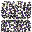 Small Wood Beads, Fashion Colors Mix, 78pc Pkg