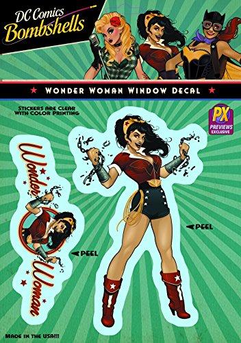 Elephant Gun DC Bombshells: Wonder Woman Vinyl Decal