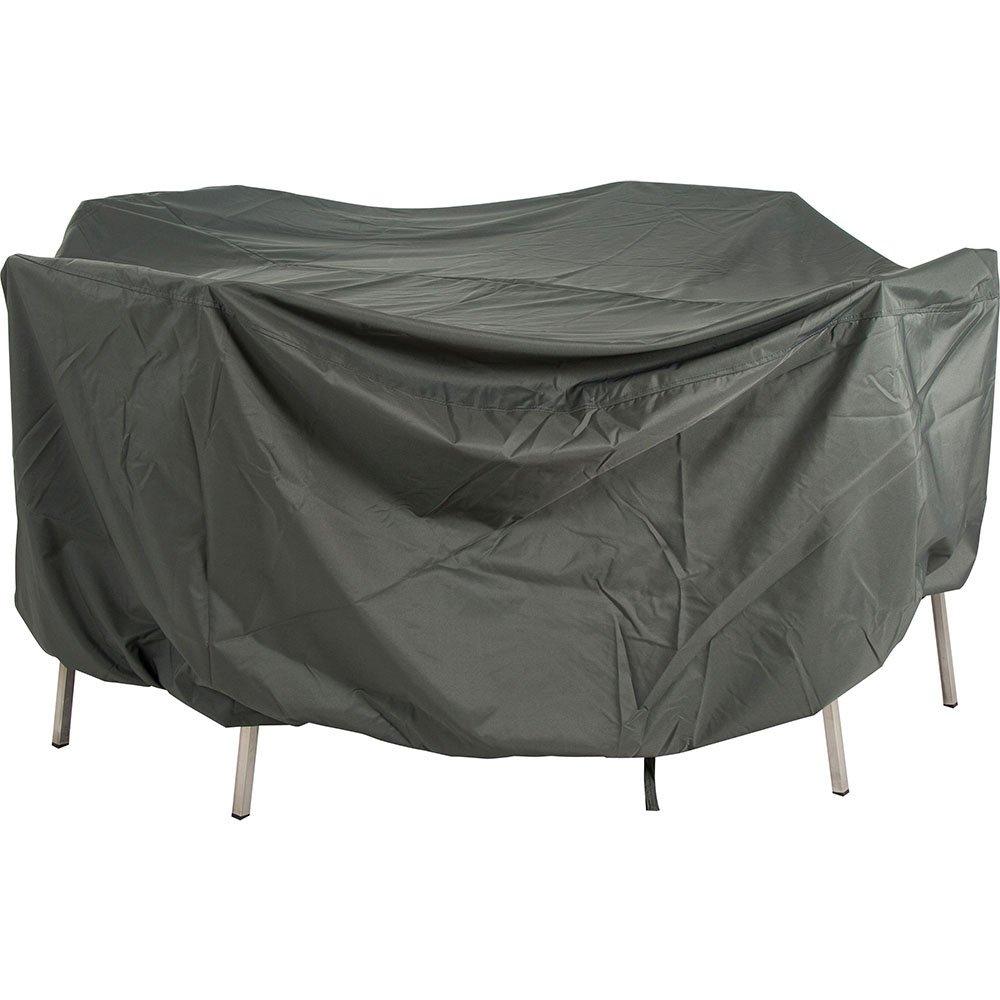 Stern Schutzhülle für Sitzgruppe oval 210x250x90 cm, uni grau mit Bindebändern und Gummizug jetzt kaufen