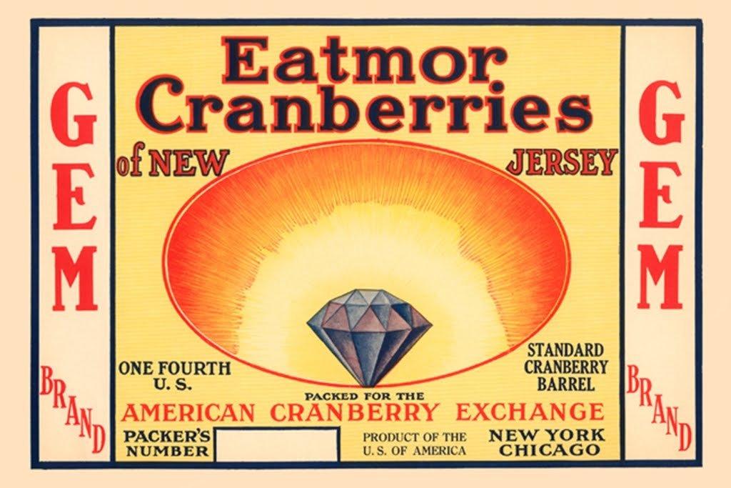 cranberries label