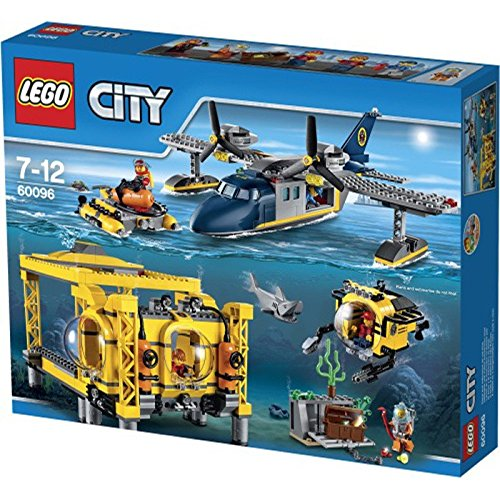 Lego City Deep Sea Explorers  Exploration Vessel Building Kit