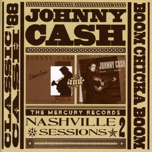 CD : Johnny Cash - Classic Cash/ Boom Chicka Boom (Germany - Import)