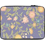 Snoogg Floral Pattern 13 To 13.6 Inch Laptop Netbook Notebook Slipcase Sleeve