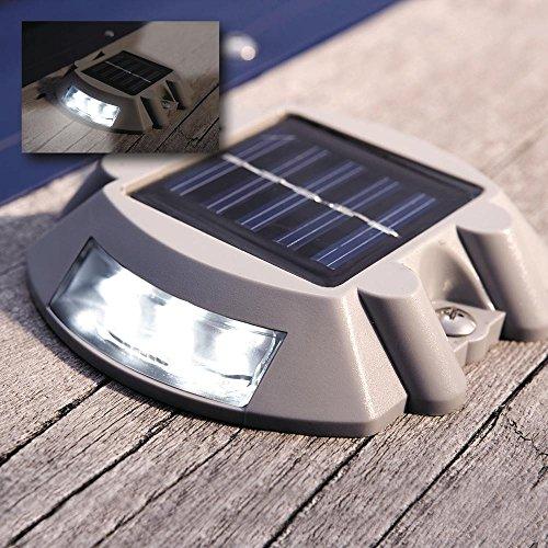 Manor House Solar Led Marker Lights Set Of 4 Home Garden