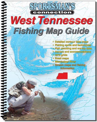 West Tennessee Fishing Map Guide (Sportsman's Connection)