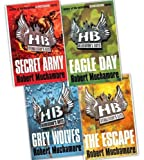 Robert Muchamore Robert Muchamore Henderson's Boys 4 Books Collection (Author of bestselling CHERUB) Pack Set RRP: £33.03 (Eagle Day, Secret Army, Grey Wolves, The Escape)