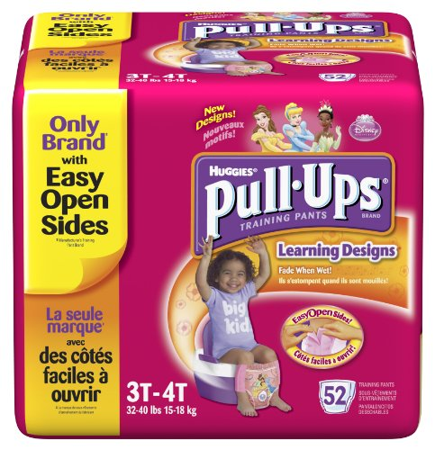 Huggies Pull-Ups Learning Designs Training Pants, Girls