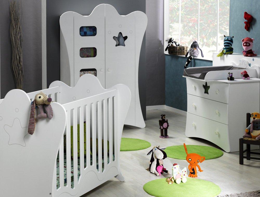 Babyzimmer komplett Petit Roi weiß