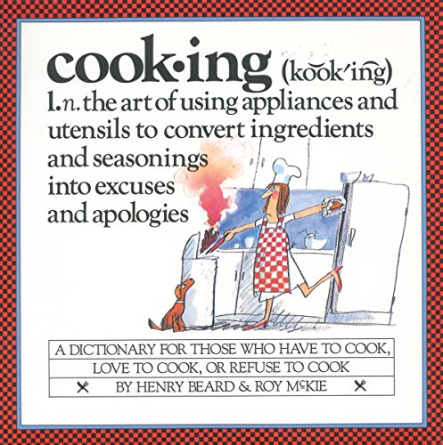 Cooking: A Cook's Dictionary - 9780894808432