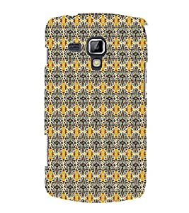 Floral Art Sea 3D Hard Polycarbonate Designer Back Case Cover for Samsung Galaxy S Duos S7562