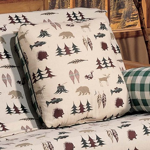 Northern Exposure Square Pillow