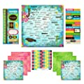 Scrapbook Customs Themed Paper and Stickers Scrapbook Kit, Jamaica Paradise