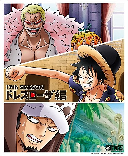 ONE PIECE ワンピース 17THシーズン ドレスローザ編 piece.8 [Blu-ray]