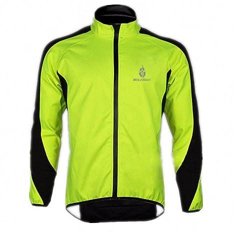 WOLFBIKE Vêtements sportif Maillot Cyclisme Veste vélo laine polaire thermique à manches longues pour hiver coupe-vent