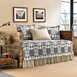 Eddie Bauer 5-Piece Quilted Daybed Set, Twin, Sandpoint