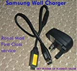 Wall Charger and Cable for Samsung digital camera SUC-C3 SUCC3 CB20U12