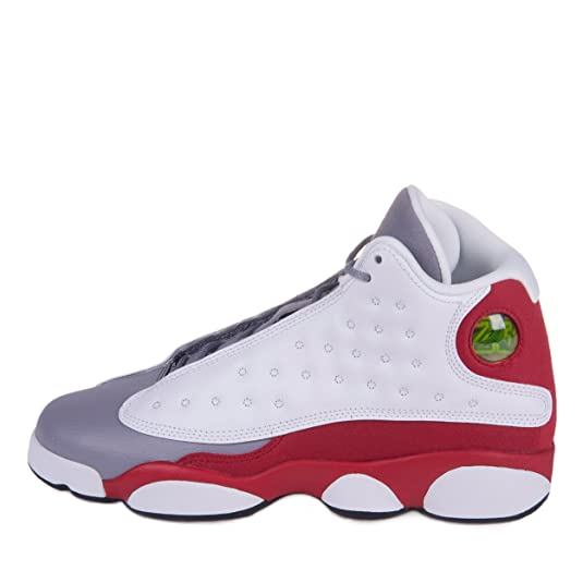 Amazon.com  Nike Air Jordan 13 Retro (GS) Grade School sizes   Squadron  Blue   414574-405  Shoes  Shoes 846a3902b