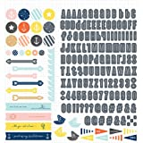 Studio Calico Atlantic 12x12 Scrapbook Sticker Sheet