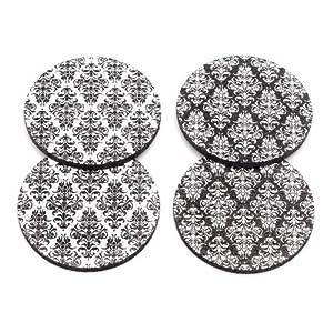 Flox 'Damascalicious' Rubber Coasters