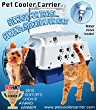 Premium Pet Cooler Carrier - Cool for ALL Seasons! Cooling, Hydration, Storage, Sturdiness & Style.