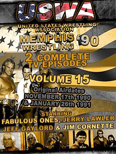 USWA Memphis Wrestling 2 TV Episodes 1990 Vol 15